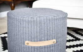 Sew the Perfect Floor Pouf...