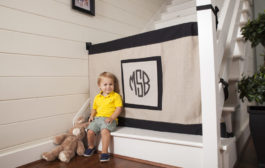 Finally, a Baby Gate That Isn't a Barrier to Your Style! + Giveaw...