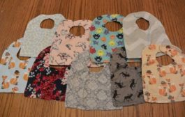 DIY Reversible Baby Bibs Tutorial | How to Make Lots: for Cheap!...