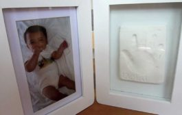 Baby Casting Imprint Kits & Photo Frame | Snuggle Collection | Ba...