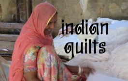 Handmade Indian Natural Quilts With Block Printing - Colouricious...