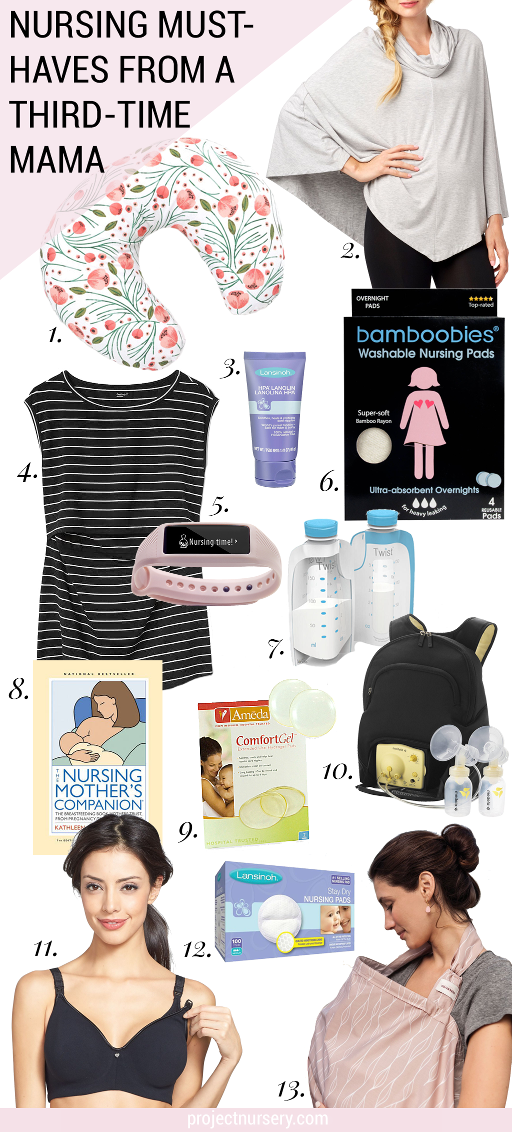 Nursing Must-Haves from a Third-Time Mama...