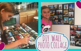 DIY PROJECT: WALL PHOTO COLLAGE...
