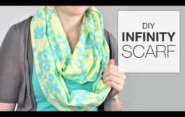 Tutorial: How to Sew an Infinity Scarf...