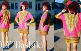 DIY African Dashiki Dress in 7 min | WIN DIY Dashiki Fashion Kit ...