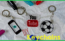 DIY Crafts: How To Make A Keychain...