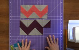Make Your Own Chevron Print Fabric  |  National Sewing Circle...
