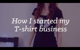 How I started my business selling T-shirts online...