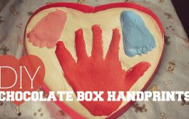 DIY Chocolate Box Handprints...