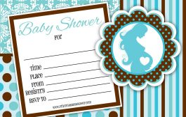 4 Blue And Brown Baby Shower Prints That You'll Love!...