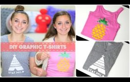 DIY Graphic T-Shirts | Brooklyn and Bailey...