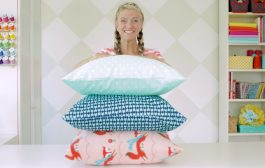 How to sew a pillowcase •two ways •1 yard of fabric...