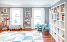 Readers' Favorite: Bright and Bold Modern Playroom...