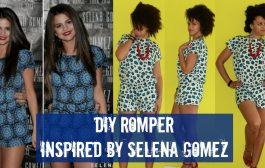 How-To | DIY Romper Inspired by Selena Gomez | DIY Clothes...