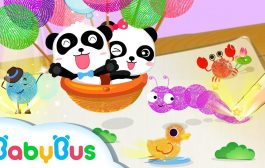 Baby Panda Finger Prints   Game Preview   Educational Games for k...