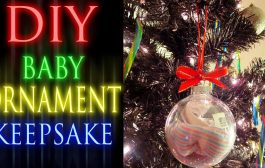 DIY Baby Ornament Keepsake...