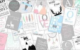 Sweet and Dimple Designs A4 Nursery Wall Art Prints...