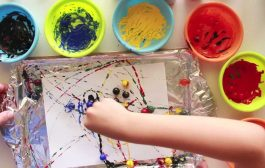 Painting with Marbles...