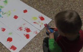 Baby play with color || Funny prints || Game handls || Video for ...