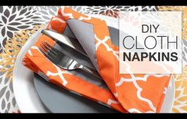 How to Sew Fabric Napkins (Tutorial)...