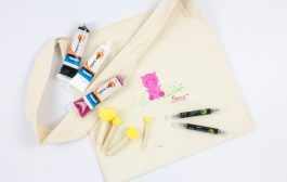 Project: Pig Print Calico Bag - Fabric Art Paint...