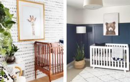 Adding Animal Decor to the Nursery in a Sophisticated Way...
