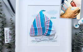 Same, but different: a new hospital blanket sailboat....