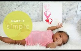 Make It Simple: Easy Footprint Art for Babies...
