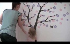 Wall decals installation video by Surface Inspired...