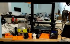 LiVE! Creality Ender 3 3D Printer Mod's - My First Prints...