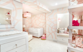 This Girl's Nursery Finds the Perfect Balance Between Cool and Cu...