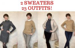 2 SWEATERS 23 OUTFITS!...