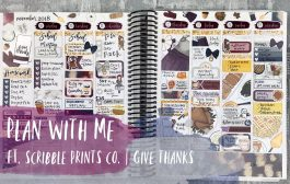 plan with me | ft. scribble prints co. | erin condren vertical...