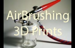 How to AirBrush 3D Prints...