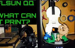 FLSUN QQ Large delta 3d printer - Great quality prints!!...