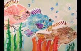 Make Fish-Shaped Prints Using a Japanese Printing Technique on Ha...