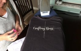How to make an iron-on tshirt with Cricut and heat transfer vinyl...
