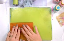 Gelli Plate Printing Session | 20 Backgrounds to Use in My Journa...