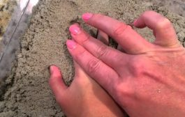 Make Sand Handprints!...