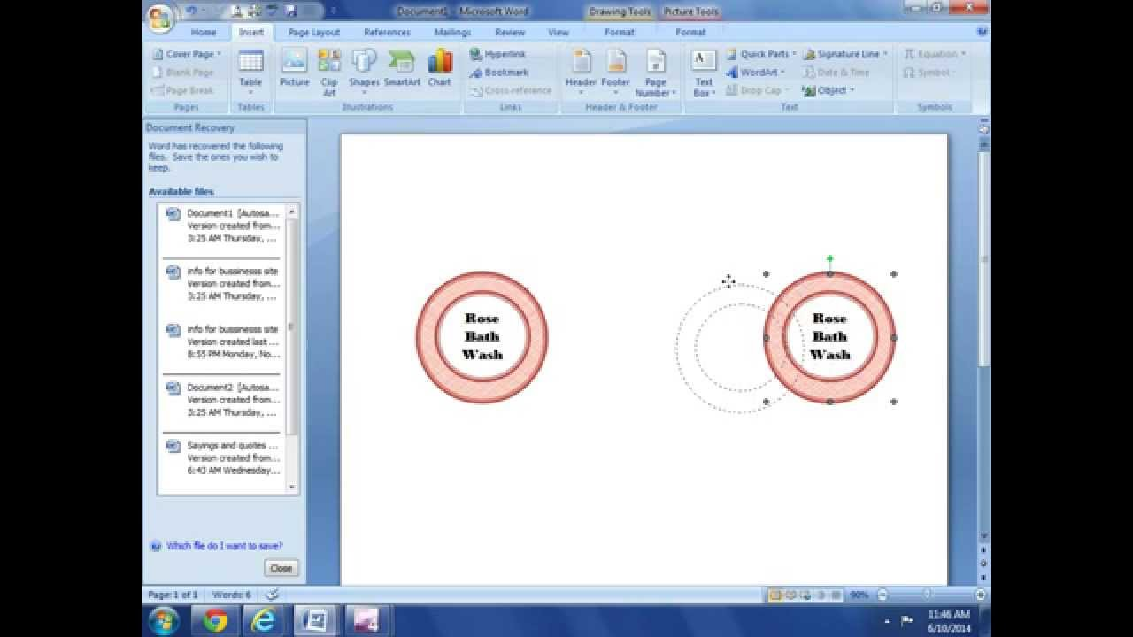 How to Make your own Labels, Tags and Printables with MS Word/ DI...