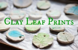 How to Make Clay Leaf Prints...
