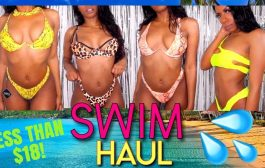 13 SWIMSUITS ALL LESS THAN $18! BADDIES ONLY NEONS & ANIMAL P...