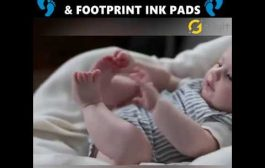 Baby Hand & Footprint Ink Pad Photo...
