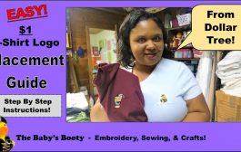 T-shirt logo placement guide for $1 DIY from the Dollar Tree!...