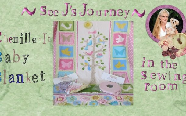 Chenille –It Baby Panel Quilt...