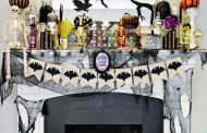 Make it Spooky: Halloween Mantel Decorations!...