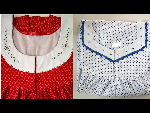 Latest nighty designs 2019 || cotton nighties for women...