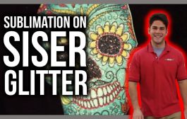 Did You Know? You Can Sublimate on Siser Glitter!...