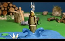 GOING FISHING. A Stop motion Animation by Guldies...