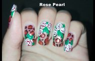 Leopard Print Manicure with Roses (Safari Prints): DIY Nail Art D...